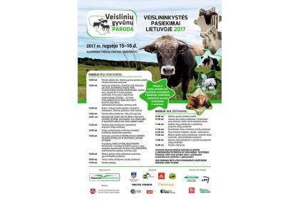 Rugsėjo 15-16 d. kviečiame aplankyti mūsų stendą Veislinių gyvūnų parodoje-mugėje  Algirdiškėse, Panevėžio raj.