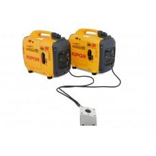 Skaitmeninis elektros generatorius KIPOR IG2600P (Viso 4.6 kW, 2 vnt)