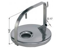 Nerūdijančio plieno dangtelis INTERPULS ( be tarpinės) be varžto