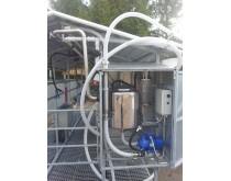 Mobili melžimo aikštelė MOTECH6 su 40 L pieno kolba