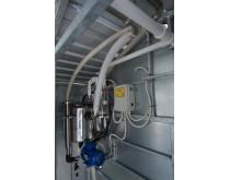 Mobili melžimo aikštelė MOOTECH4 su 40 L pieno kolba ir įrangos patalpa