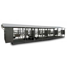 Mobili melžimo aikštelė MOTECH8 su 40 L pieno kolba ir įrangos patalpa