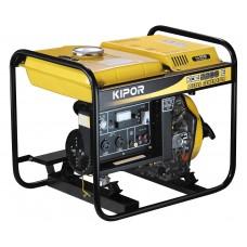 Dyzelinis KIPOR elektros generatorius KDE2200E