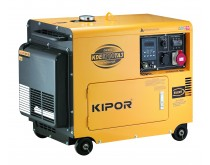 Dyzelinis KIPOR elektros generatorius KDE6700TA3