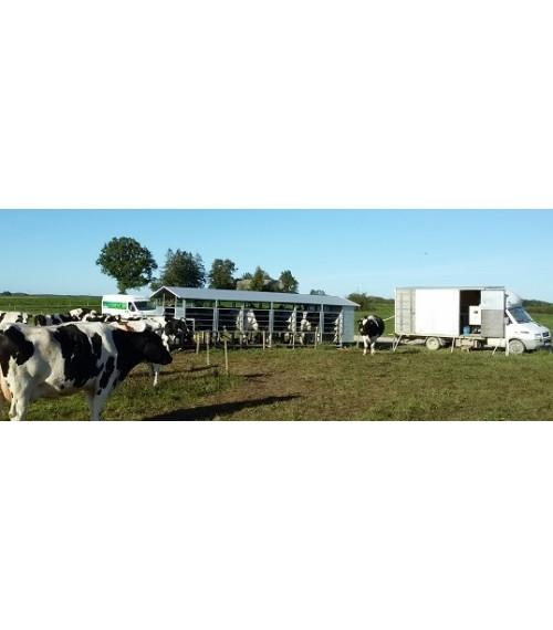 Mobili melžimo įranga 150 karvių